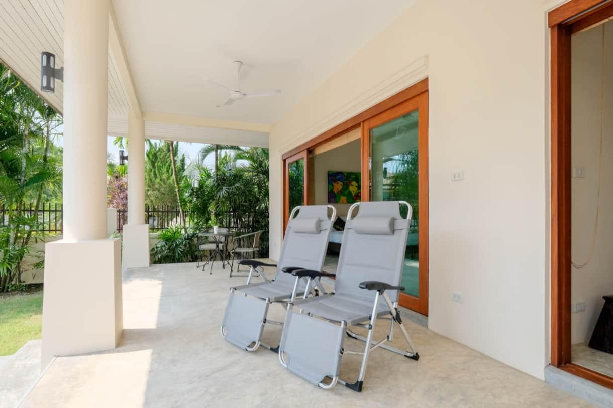 Abri Veranda Pour Spa villa baan sawan (chiang mai-thaïlande)