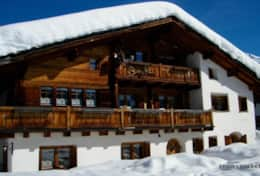 chalet runca winter photo