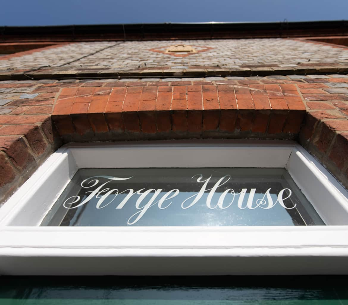 forge house sign