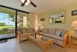 Visit-Maui-Beach-vacation-Papakea-Resort-oceanfront-living-room-lanai-B110
