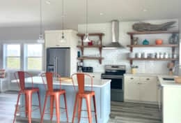 Colorful kitchen will inspire some creative cooking