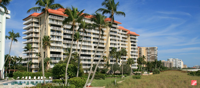 Beachfront condo rental