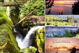 Sol Duc & Fishing Collage