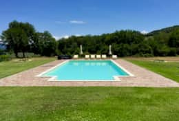 Private pool at Orvieto Farm
