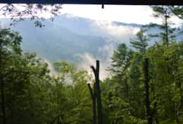 Waynesville Smokies Overlook Lodge Cabin - More views