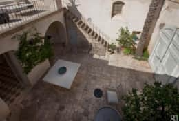 Casa del Palmarancio - view of the entrance courtyard - Gagliano del Capo - Salento