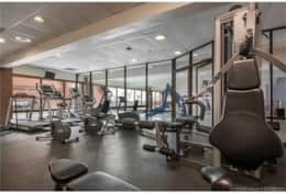 Full gym to use during your stay (in case you didn't get enough exercise on the slopes!)
