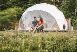 ASHEVILLE GLAMPING DOME 2