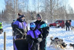 K46 Wallace Cottage - We can arrange dog sledding where you can test driving yourself