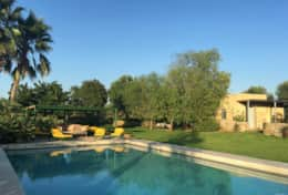 Le More - furnished pool area - Spongano - Salento