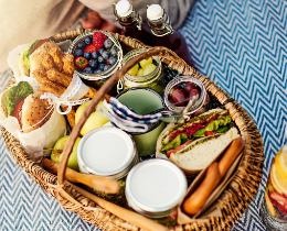 The Greek Breakfast Basket