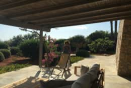 Summer House - view of the garden - Marina di S.Gregorio-Salento