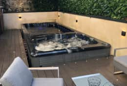 Garden furniture, jacuzzi