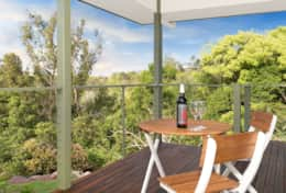 Holiday-Accommodation-Flaxton-House-Master Room Patio 1