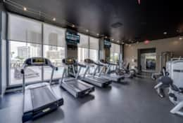Fitness Center with Great Views