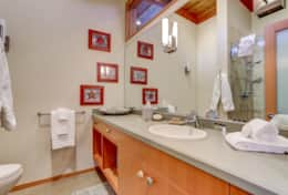 The 1st Master Bathroom